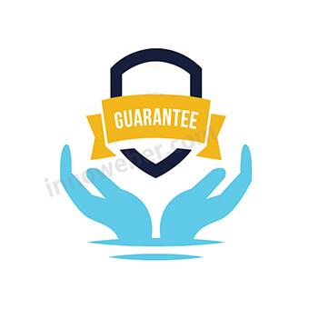 Logo hands guarantee 2