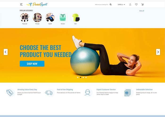 innoweber.com 2021 best website design-powersportco,com 網頁設計推介